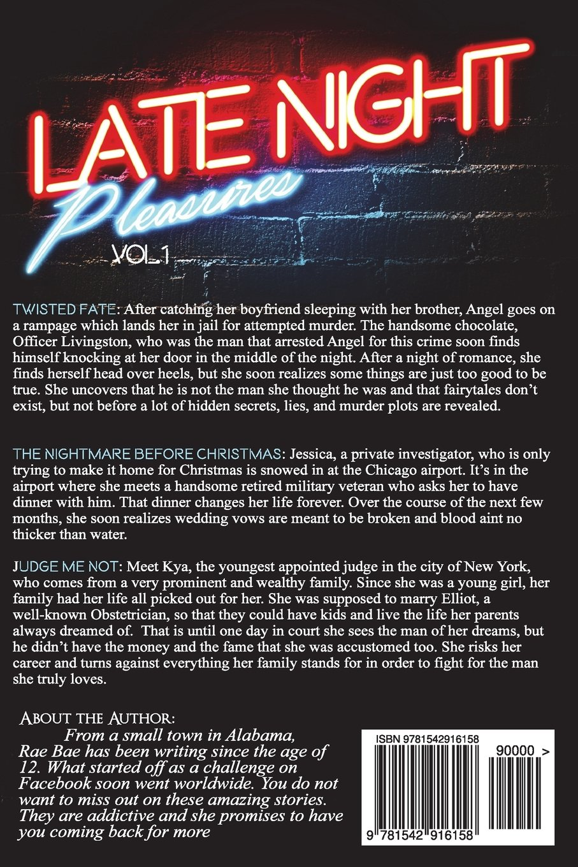 Amazon.com: Late Night Pleasure: Volume 1 (9781542916158): Rae Bae ...