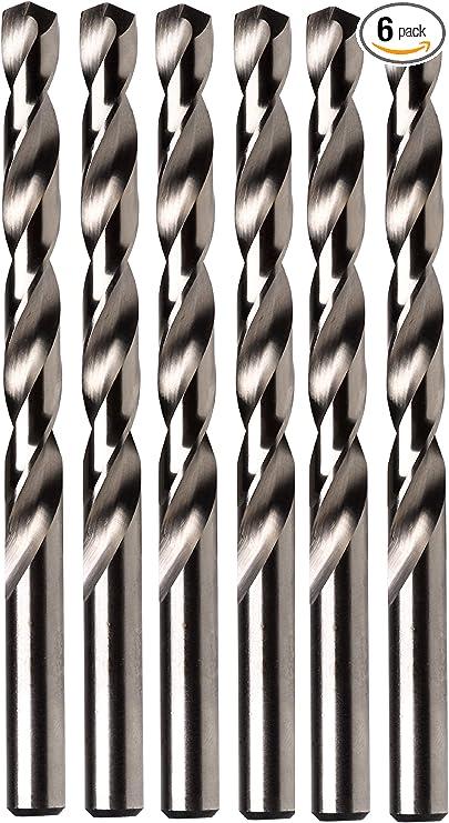 Pack of 12 Black Oxide Northland 080016 HSS Jobber Drill 2-3//16 Flute Length 16 Size 3-3//8 OAL