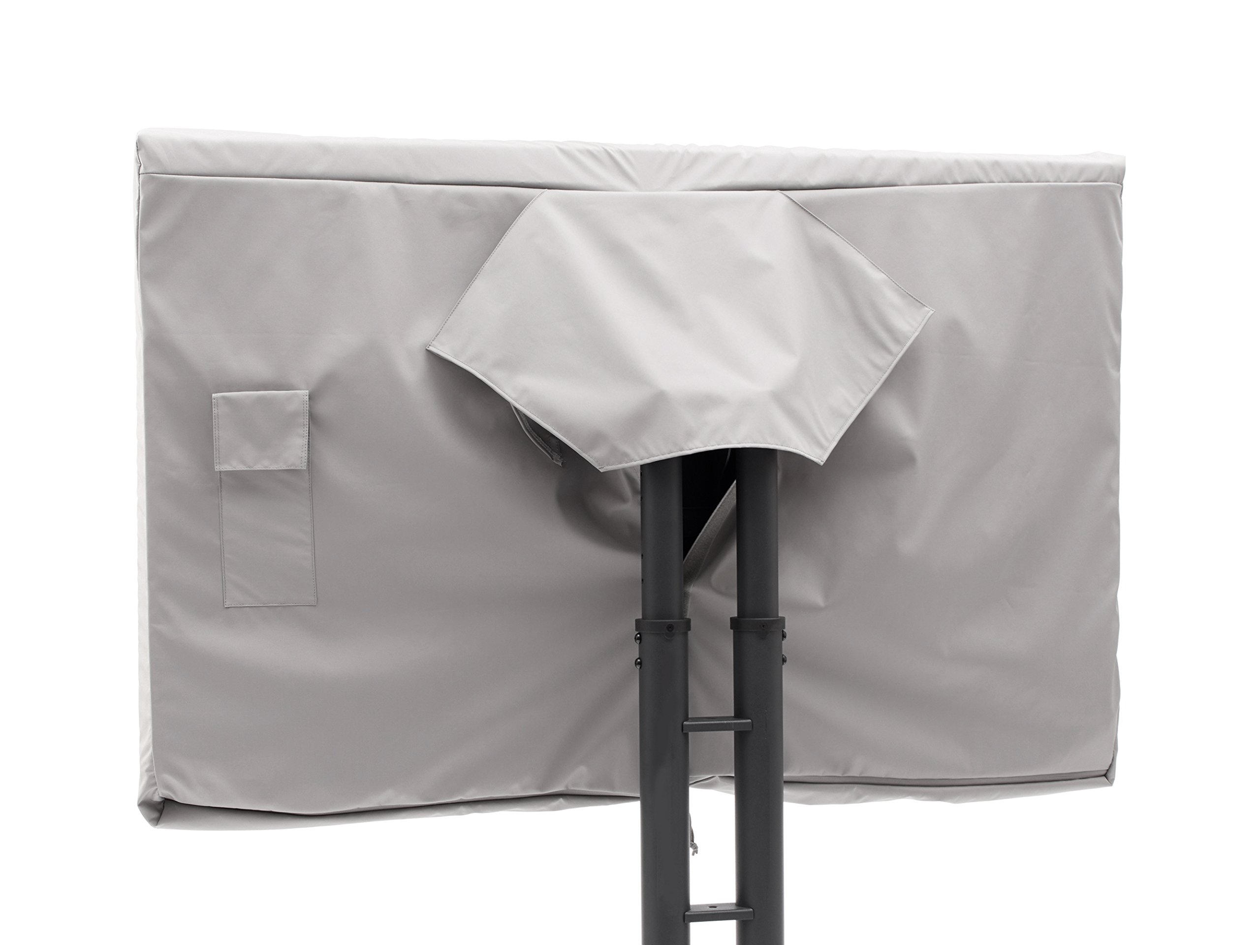 CoverMates Heavy Duty All Weather Protection- Outdoor Full TV Covers- Fits 55 to 59 inch TVs- 7 Year- Ultima- Grey