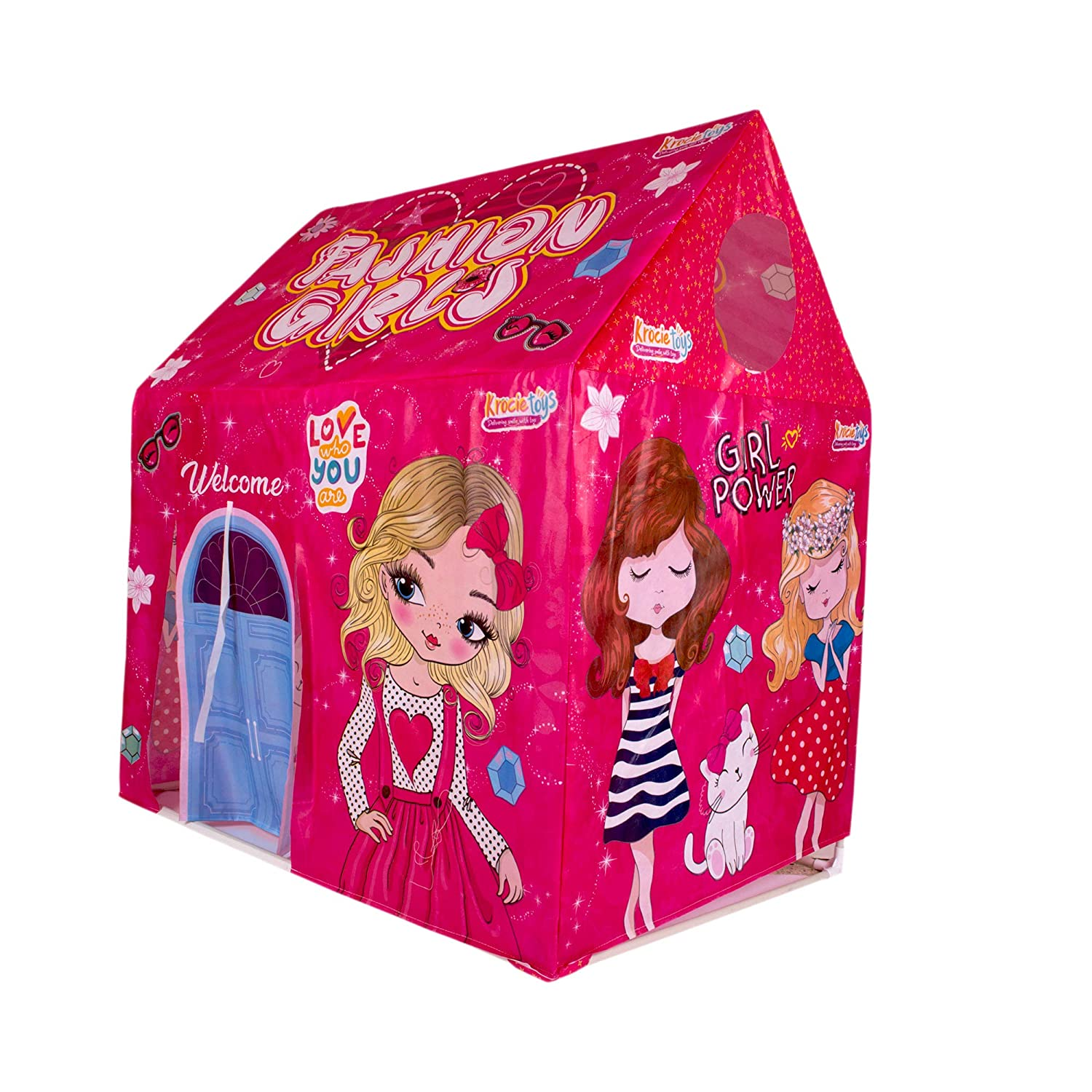 Toys Treasure Hut Type Kids Toys Jumbo Size Play Tent House for Boys and Girls