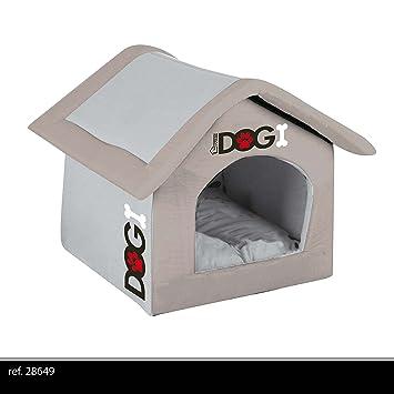Caseta/Perros cesta, espuma, cómodo, 54 cm, plegable, color rojo: Amazon.es: Productos para mascotas