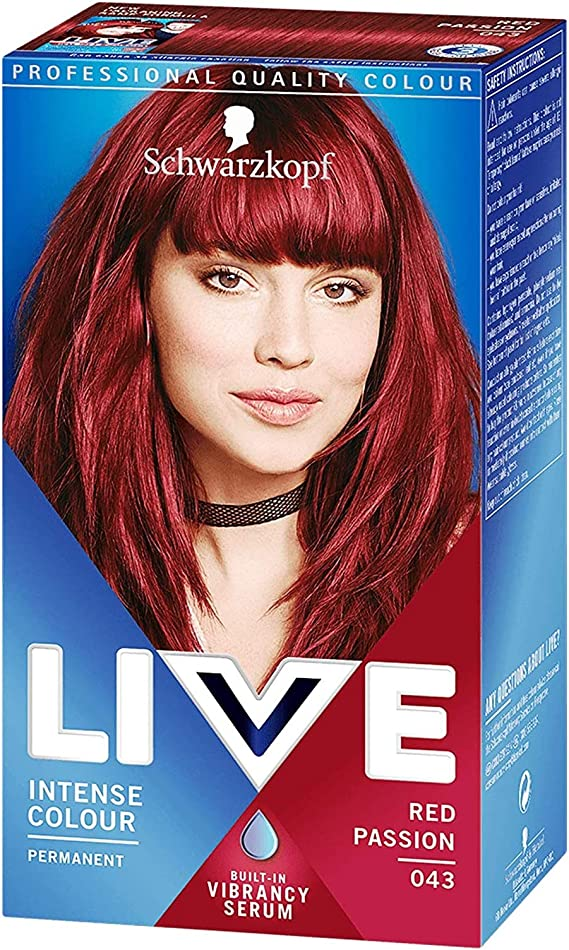 Schwarzkopf Live XXL R43 Rojo Passion - Color de cabello