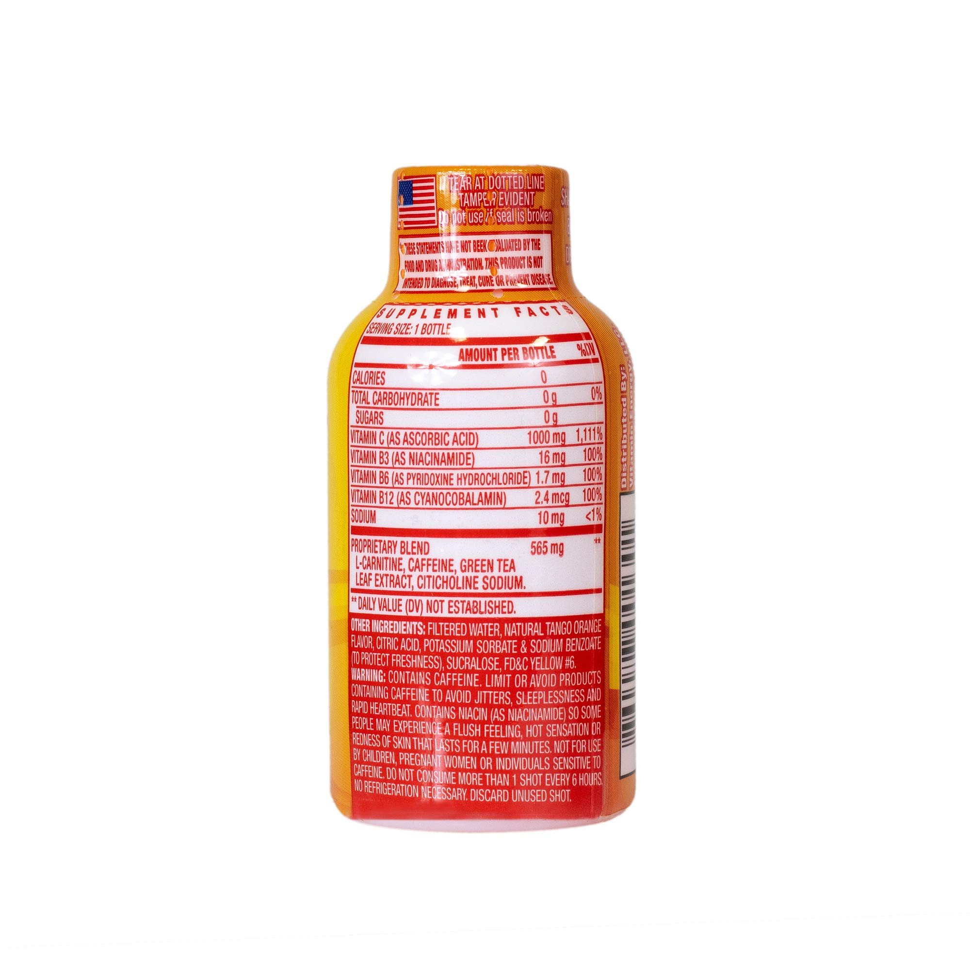 Vitamin Energy Shots – up to 7 Hours of Energy, More Vitamin C Than 10 Oranges, 0 Calories (48 Count) by Vitamin Energy (Image #8)