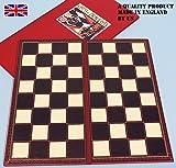 Chess board 40cm. square, folding-00406