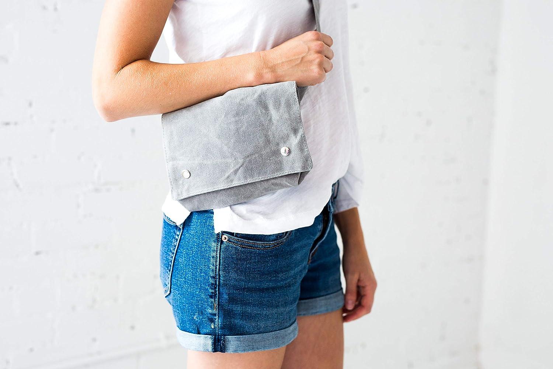 Wallet Fanny Pack Belt Bag for Women Minimal Fits Phone Sand Brown Practical Stylish