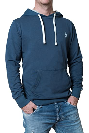 Banqert Herren Hoody FLAT OUT | active-brushed Stoffmischung | FAIRE Löhne | Designed in Germany | versch. Farben
