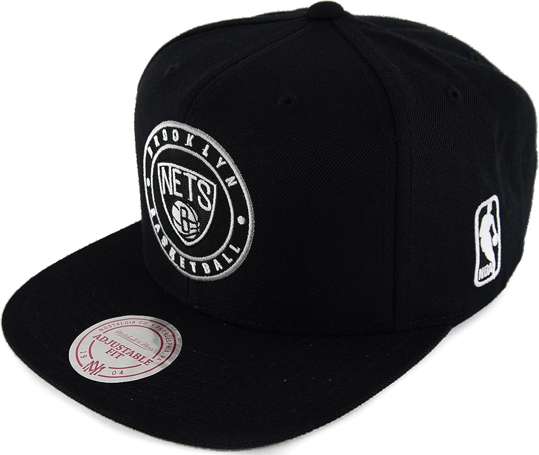 Mitchell & Ness - Gorra de béisbol - para hombre Brooklyn Nets ...