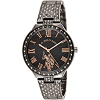 U.S. Polo Assn. Women's Analog-Quartz Watch with Alloy Strap, Silver, 13.8 (Model: USC40325)