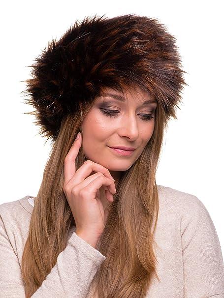 9fe7aec0be5 Futrzane Faux Fur Headband For Women Winter Earwarmer Earmuff Hat Ski  Futrzane-opaska-5
