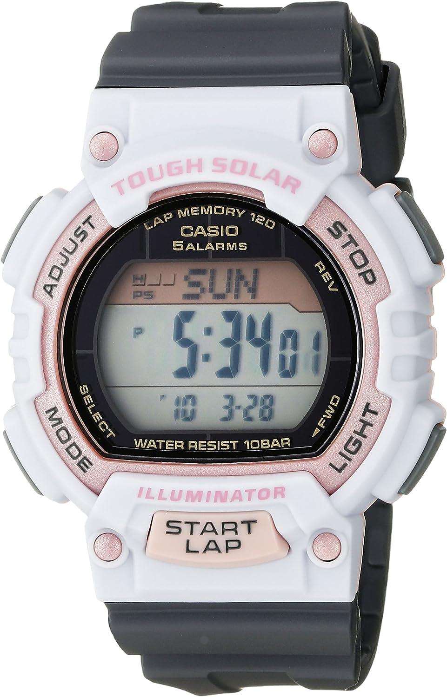 Casio Women s STL-S300H-4ACF Solar Runner Sport Watch