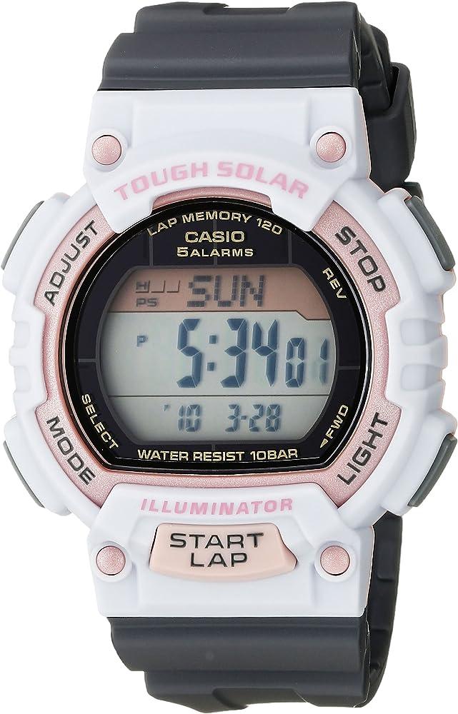 Womens STL-S300H-4ACF Solar Runner Sport Watch
