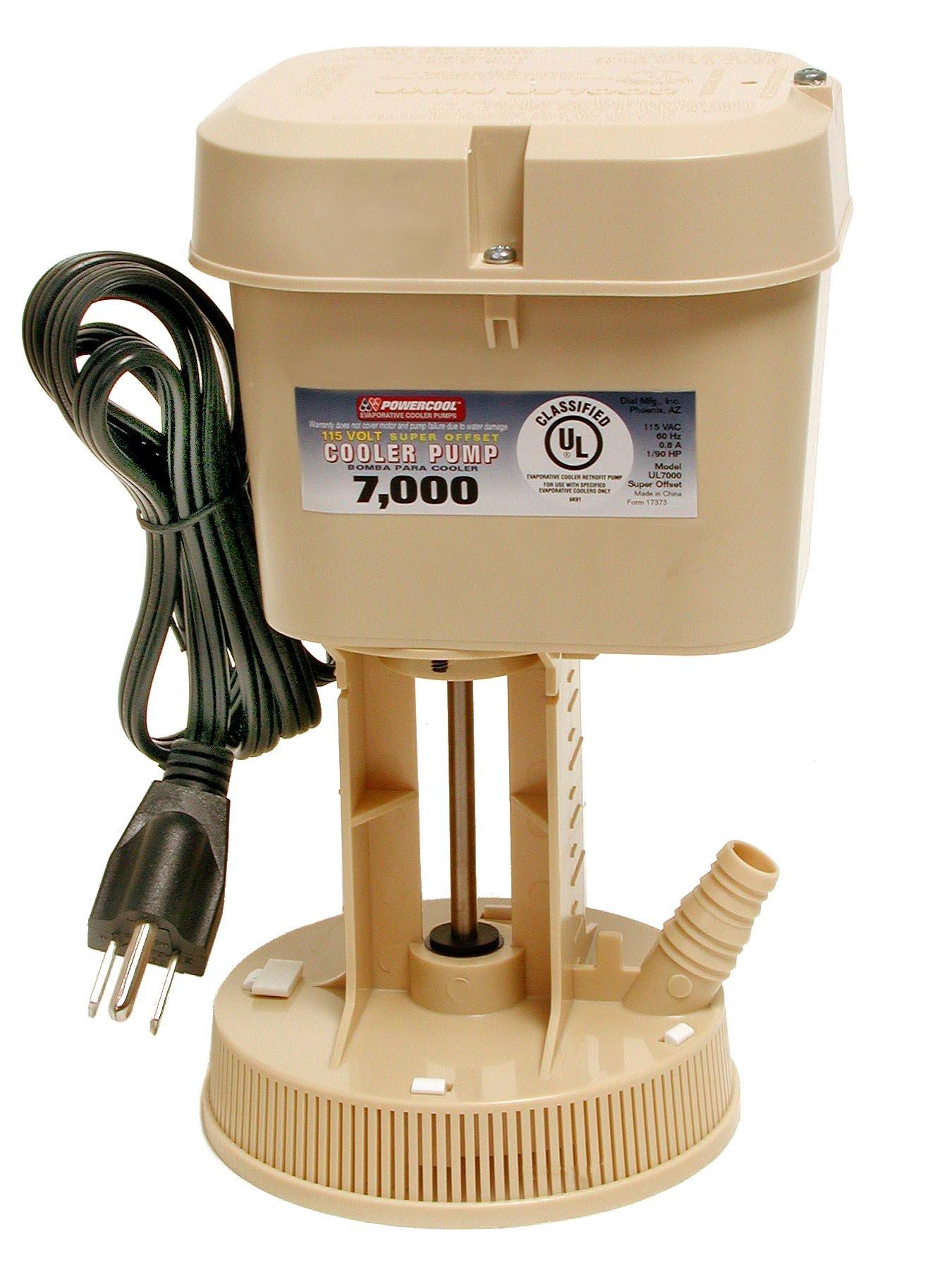 Dial 1075 Mfg Inc. # 7000 CFM Offset Pump