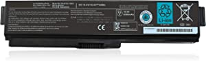 Shareway 8300mAh Repleacement Laptop Battery for Toshiba Satellite A665-S6050 P755-S5215 PA3636U-1BRL PA3819U-1BRS PA3817U-1BRS PABAS230