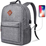 CoolBELL Backpack Casual Daypack Student Book Bag Water-resistant Travel Backpack Multipurpose 15.6 Inches Laptop…