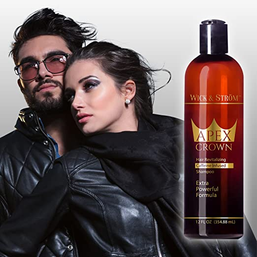 Premium Anti Hair Loss Shampoo -Wick & Ström- NO Minoxidil