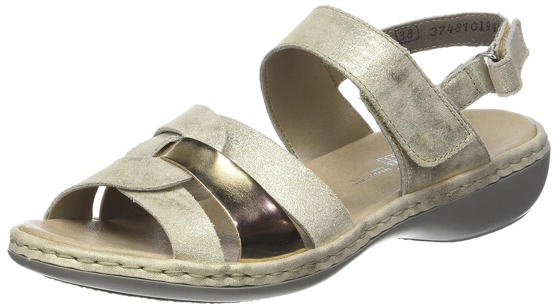 Rieker Damen 659l5 62 Sandalen: : Schuhe & Handtaschen FxKq0
