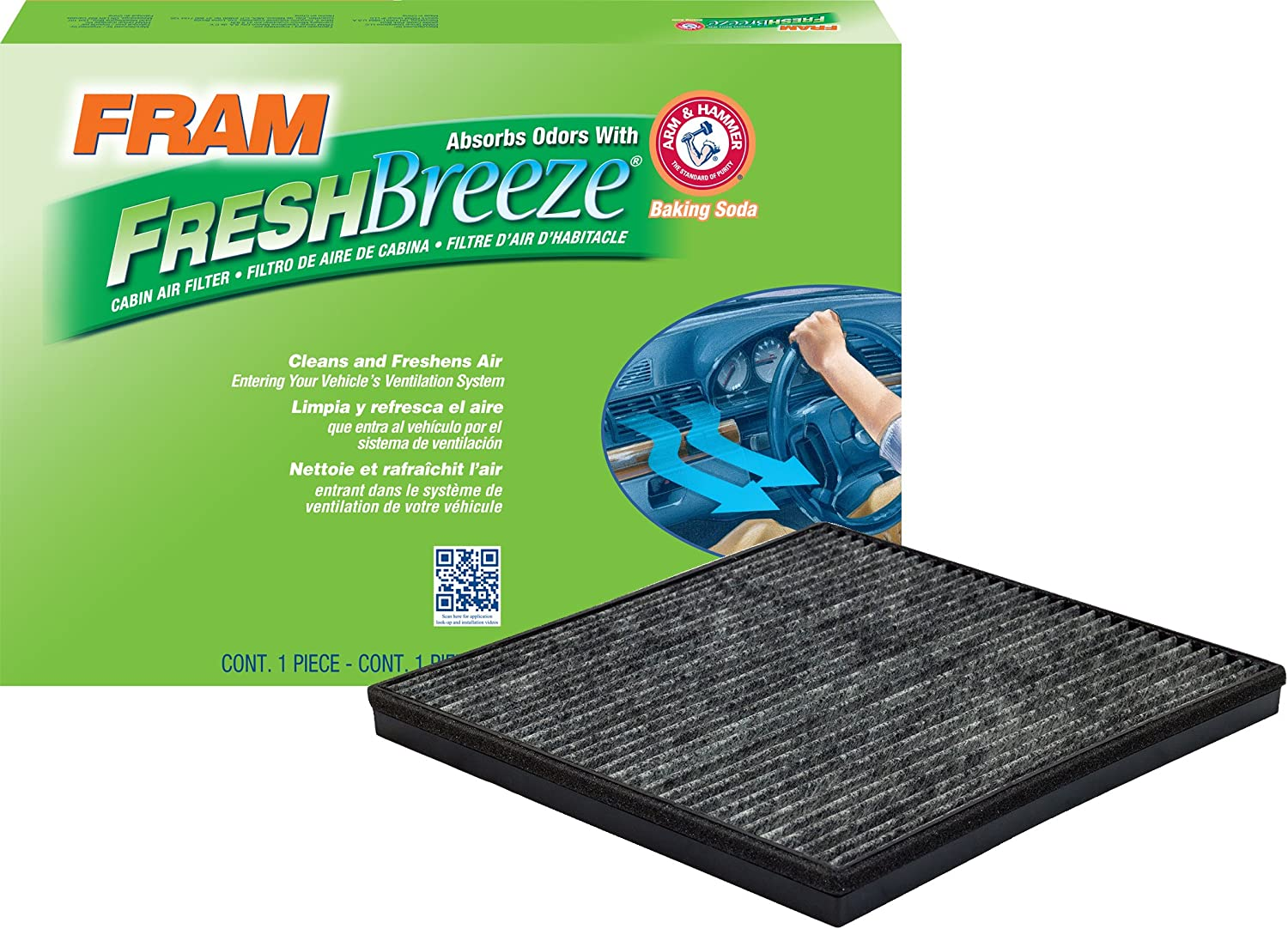 FRAM CF11667 Fresh Breeze Cabin Air Filter