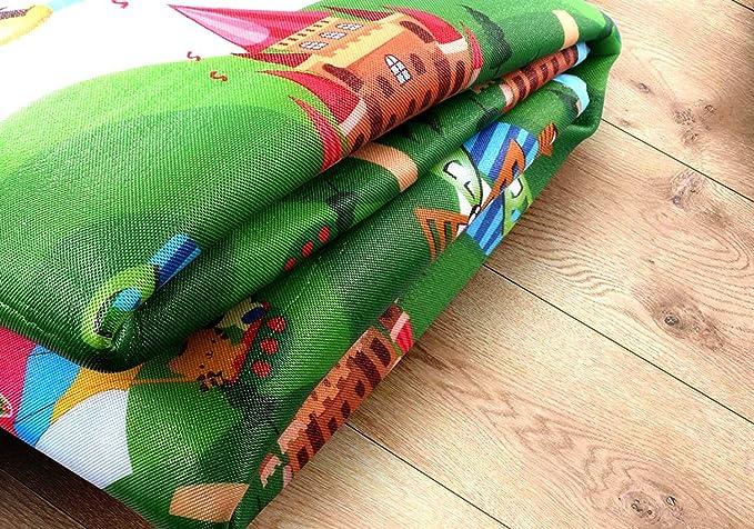 Alfombra Infantil Goma Eva Manta Actividades Niños Alfombra Bebe Gateo Alfabeto Animales 200 x 180 x 0.5cm: Amazon.es: Bebé