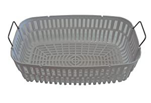 iSonic PB4820A Plastic Basket for Ultrasonic Cleaner P4820, White