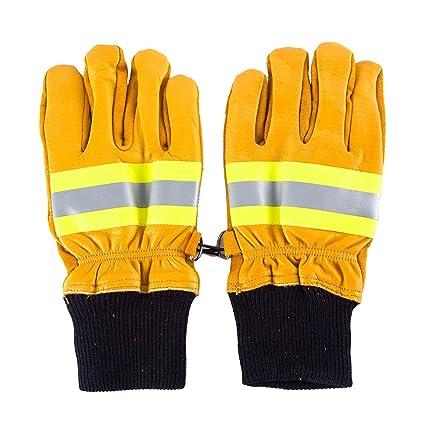 Guante soldador Para soldadura Guante trabajo Proteccion Alta temperatura Contra incendio Guante seguridad