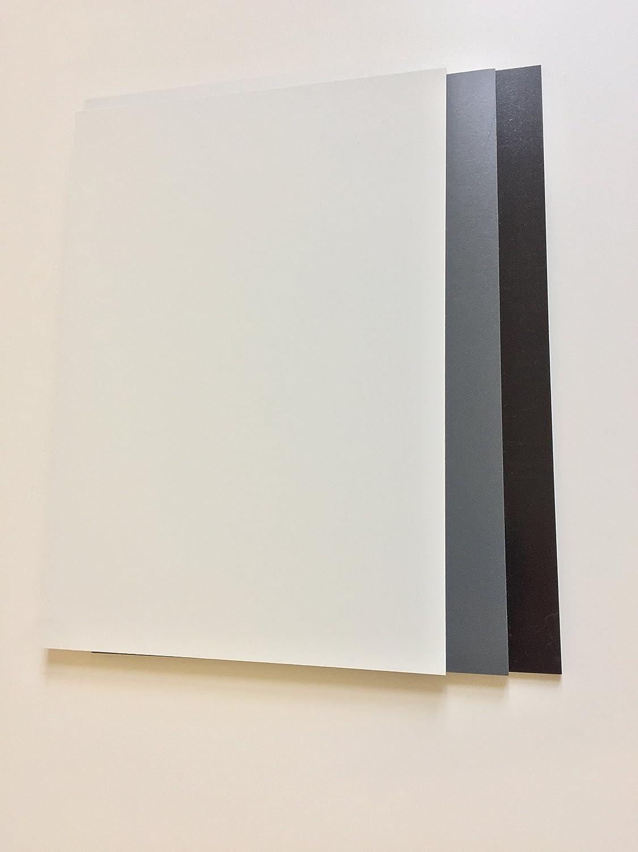 5,0/mm Compacta PVC duro placa Negro aprox 495/x 495/mm PVC duro Cloruro de polivinilo