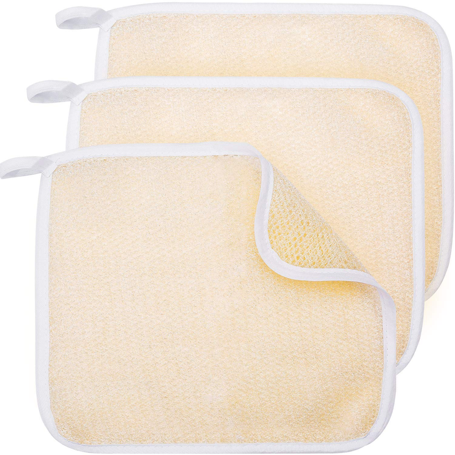 Tatuo Exfoliating Face and Body Wash Cloths Set