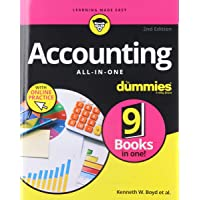 Accounting All-in-One For Dummies: with Online Practice