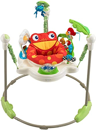 7ab574786 Amazon.com   Fisher-Price Rainforest Jumperoo   Infant Bouncers And ...