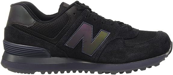 adherirse deletrear Arenoso  Buy new balance Men's 574 Black and Grey Sneakers - 7 UK/India (40.5 EU)  (7.5 US) at Amazon.in