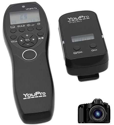 jrui YouPro 2,4 G Wired/Wireless Shutter Temporizador Mando A ...