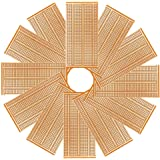 YUNGUI 12Pcs 50X100mm 2-3-5 Joint Universal PCB Boards Single Side Copper Prototype Paper Circuit Stripboards Breadboard