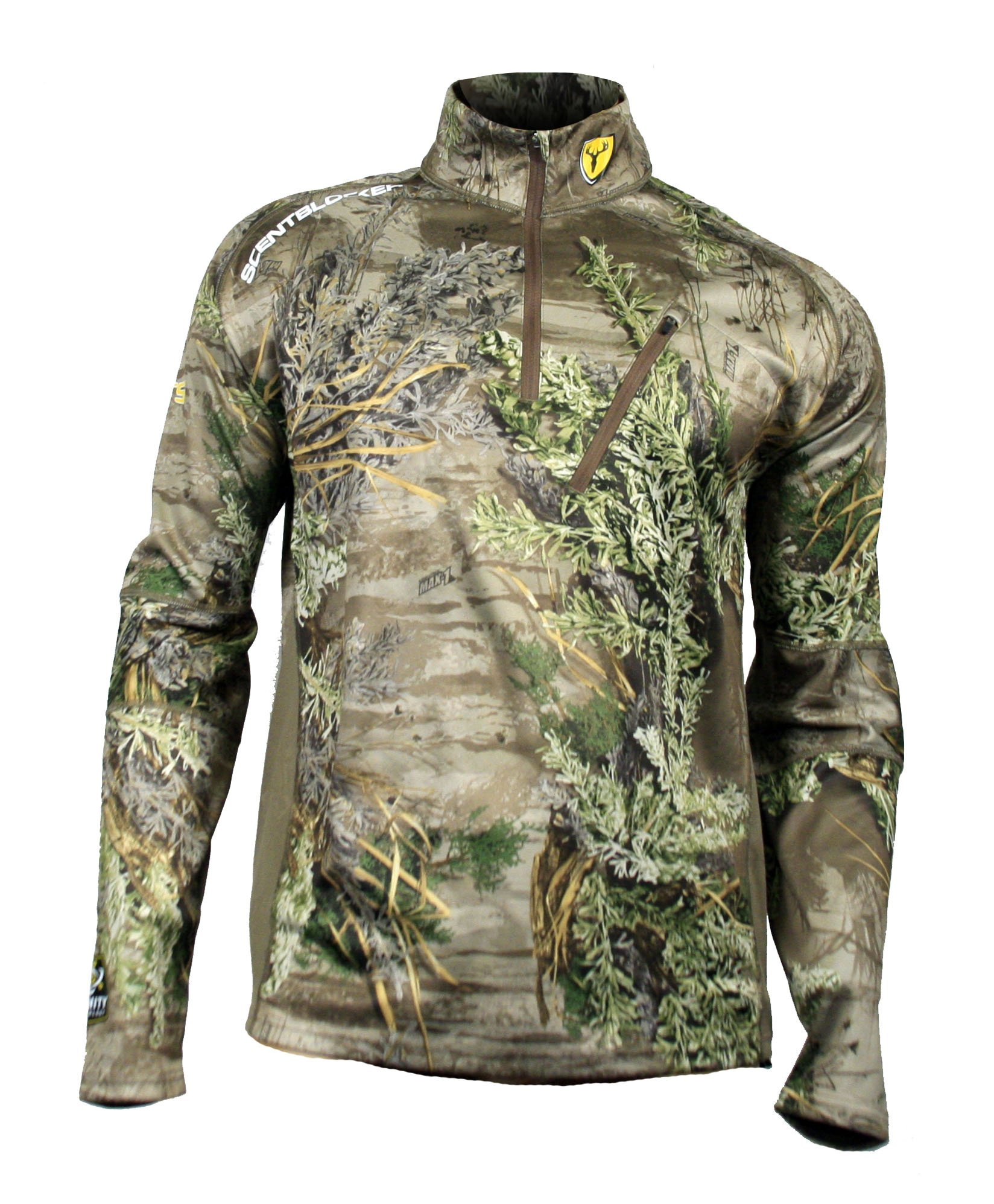 Scent Blocker NTS Long Sleeve Shirt, Camo, 2X-Large