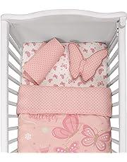 Cuddles & Cribs Nursery Bedding Crib in a Bag - 4 Piece, Butterfly Garden