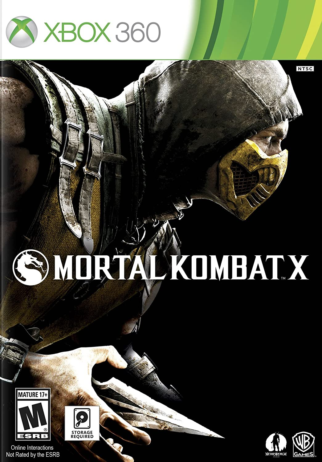 Amazon Com Mortal Kombat X Xbox 360 Video Games
