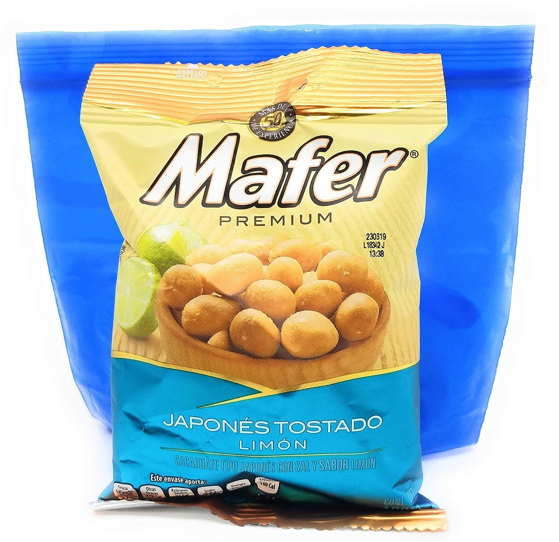 Mafer Mexicano Peanuts, Japones Tostado Limon180 g y ...