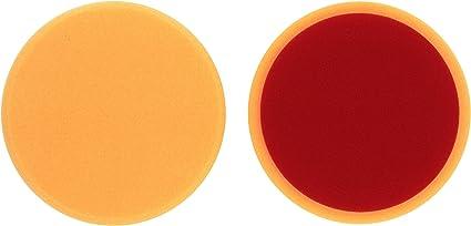Alclear 5516030ah Polierpad Gegen Hologramme Auto Polierschwämme Durchmesser 160x30 Mm Orange 2er Set Polierpad Polieren Pad Schwamm Polierschaum F Poliermaschine 5516030ah 2 Auto