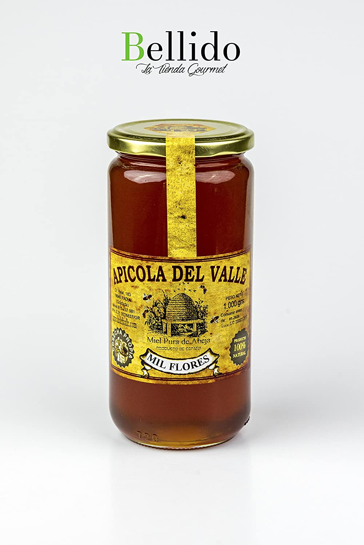 Miel 100% natural pura de abeja cosecha propia artesanal Apicola del Valle, diferentes sabores muy intensos. Envío GRATIS 24 h.