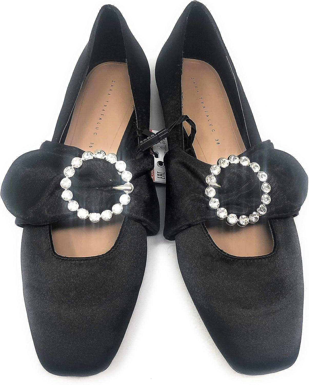 Amazon.com | Zara Flats Black | Flats