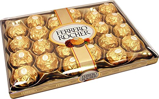 Oferta amazon: Ferrero Rocher 24 Piezas 300g