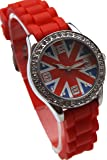 Montre Enfant Ado Fille London Drapeau Anglais Union Jack Londres