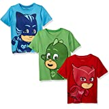 Pj Masks 3 Pack Boys Tees