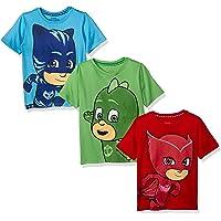 PJ Masks Boys PJSB094 3 Pack Boys Tees T-Shirt - Multi - 5