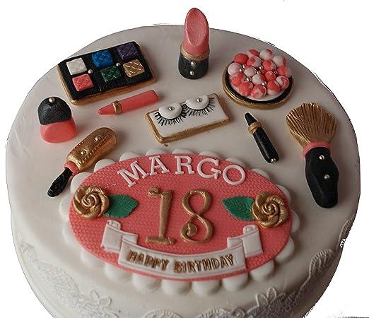 Juego de decoración comestible para tarta personalizable ...