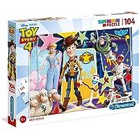 Clementoni - 27129 - Supercolor Puzzle - Toy Story 4 - 104 Parça - Disney