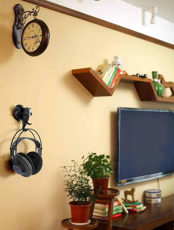 Amazon.com: HERNGEE Elephant Head Single Wall Hook / Hanger Animal ...