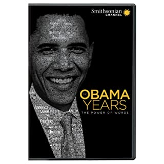 Book Cover: Smithsonian: The Obama Years: The Power of Words