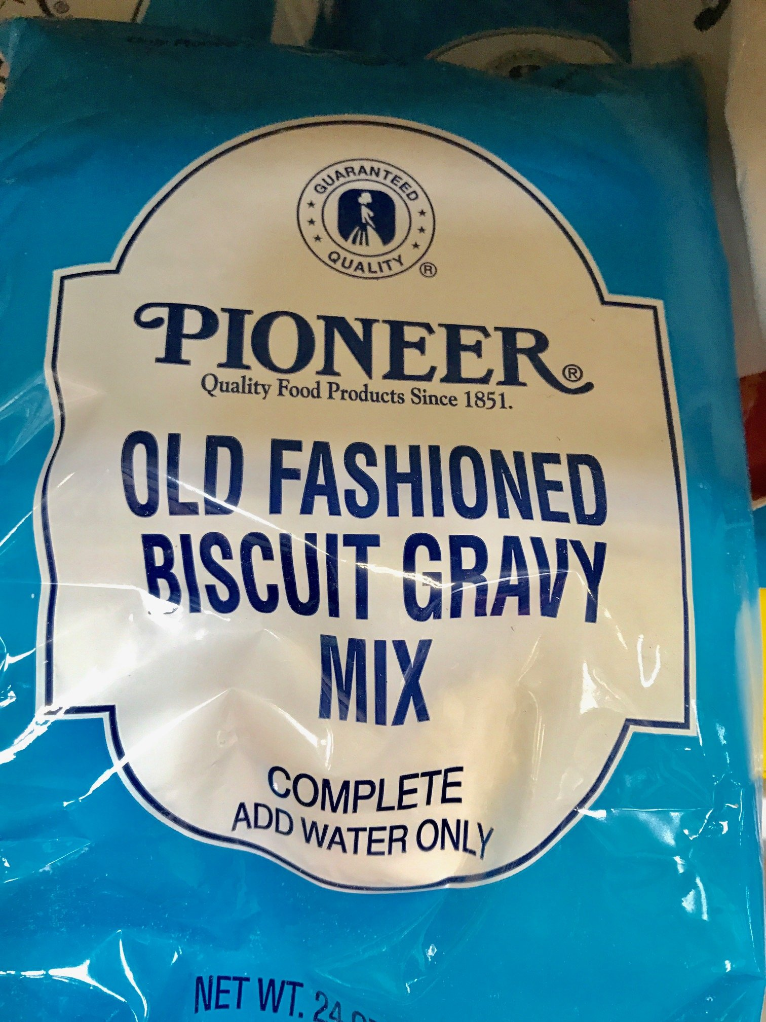 Pioneer Old Fashioned Biscuit Gravy Mix, 24 Ounce -- 6 per case. by CH Guenther