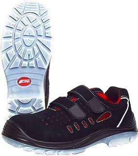 antiest/áticas EU36 140 color gris con puntera de acero 302S1 gris UK4 Sandalias de seguridad muy ligeras