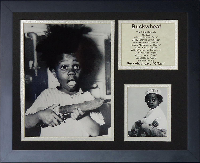 Legends Never Die Buckwheat Portrait Framed Photo Collage 11 x 14-Inch