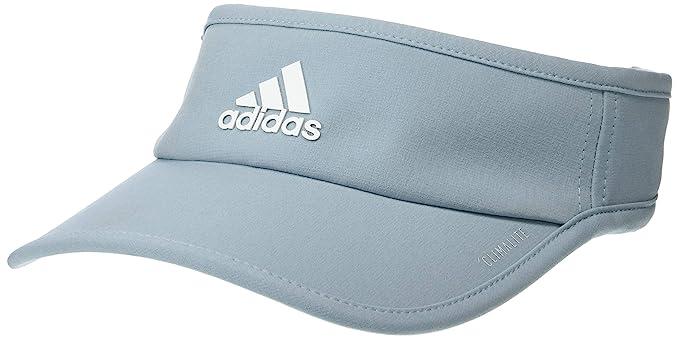 8aa012e0 Amazon.com: adidas Women's SuperLite Visor, Ash Grey/White, One Size ...